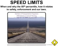 Speed Limits presentation
