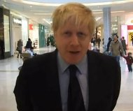 Mayor Boris Johnson