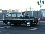 London cab, photo by Morty Vane/Flickr