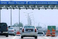 Tollway billboard