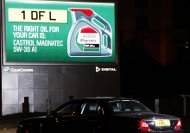 Castrol billboard