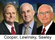 Cooper, Lewinsky, Sawley