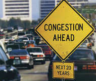 Freeway congestion