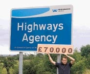 Highways Agency sign