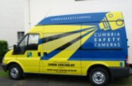 Cumbria speed camera van