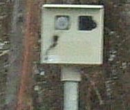 Blinded speed camera