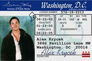DC Drivers license
