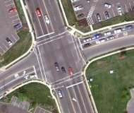 Google map image of intersection