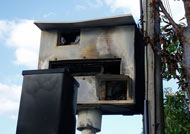 Willingham destroyed speed camera. Photo: Derek/Flickr
