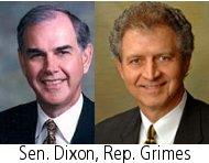 Sen Dixon, Rep. Grimes