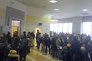 DMV line photo by Jennifer Daniel/Flickr