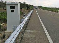 Speed camera in Spain
