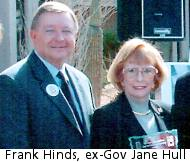 Frank Hinds, former AZ Gov. Jane Hull