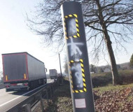 La Couronne speed camera
