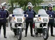 French motorcycle police