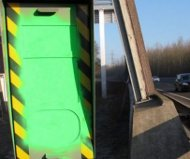 French green speed camera