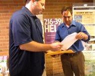 Grant McCallum turns in signatures, 7/25