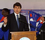 Governor Rod R. Blagojevich
