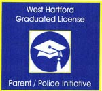 Graduated License sticker