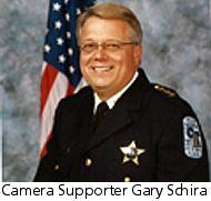Camera supporter Gary Schira