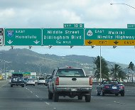 Nimitz freeway photo by David Grant/flickr