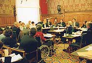 House of Commons committee meeting