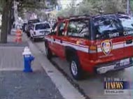 Fire chief parked illegally
