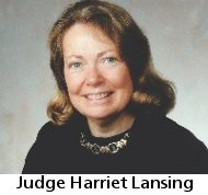Judge Harriet Lansing