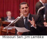 Missouri state Senator Jim Lembke