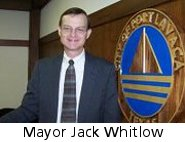 Port Lavaca Mayor Jack Whitlow