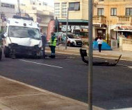 Malta ambulance crash