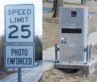 Maryland speed camera