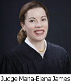 Judge Maria-Elena James