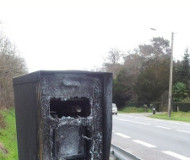 Merignac, France speed camera