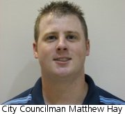 Arnold City Councilman Matthew Hay