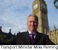 Road Safety Minister Mike Penning