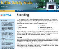 Traffic Safety Facts cover