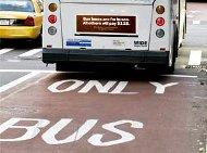 New York bus lanes
