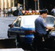 NYPD issuing ticket