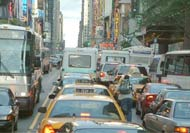 New York traffic