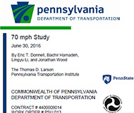 PennDOT report cover