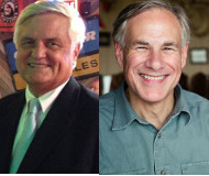 Tom Pauken, Greg Abbott