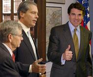 Governor Perry, Speaker Craddick, Lt. Governor Dewhurst