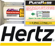 Platepass and Hertz