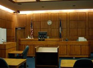 Prince William County courtroom