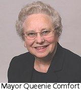 Mayor Queenie Comfort