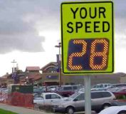 SpeedCheck sign