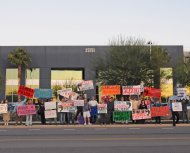 Redflex protest, 12/3/08