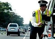 South Africa speed camera