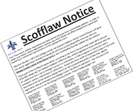 Scofflaw notice
